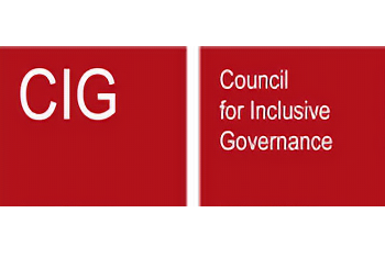 COUNCIL FOR INCLUSIVE GOVERNANCE (CIG)